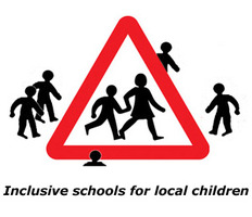 Richmond Inclusive Schools Campaign logo
